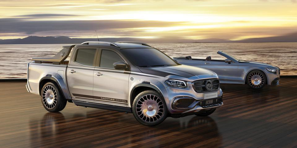 Mercedes-Benz X-Class EXY Yachting