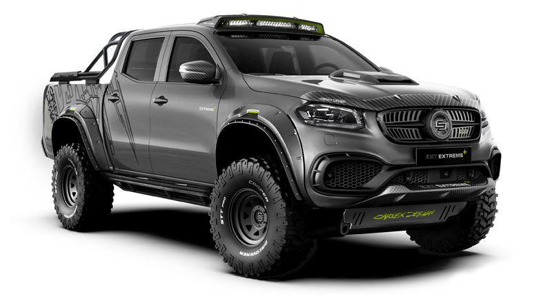 Mercedes-Benz X-Class Exy Extreme+
